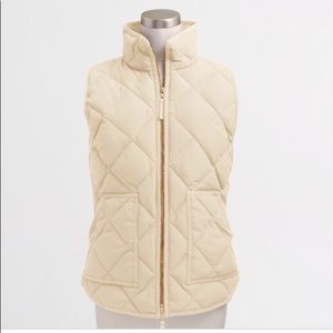 J. Crew Factory Quilted Puffer Vest